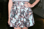Jayma Mays Mini Skirt
