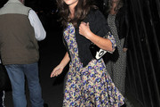 Jenna-Louise Coleman Print Dress