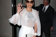 Jennifer Lopez Embellished Top