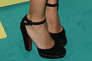 Jennifer Tilly Strappy Sandals