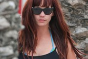 Jessica Sutta Long Straight Cut with Bangs