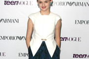 Joey King Fitted Blouse