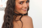 Jordana Brewster Long Partially Braided