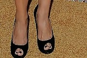 Julia Louis-Dreyfus Peep Toe Pumps