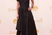Lena Headey One Shoulder Dress