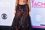 Cassadee Pope Sheer Dress