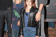 Kaia Gerber Leather Jacket