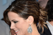 Kate Beckinsale Bobby Pinned updo