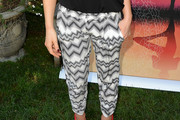Kate Beckinsale Print Pants