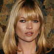 Kate Moss Medium Straight Cut with Bangs