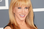 Kathy Griffin Long Straight Cut with Bangs