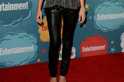 Katie Cassidy Leather Pants