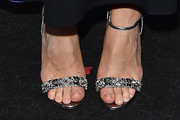Kasia Smutniak Evening Sandals
