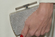 Kelly Rutherford Hard Case Clutch