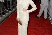 Blanca Suarez Beaded Dress
