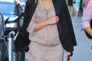 Karolina Kurkova Maternity Dress