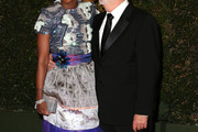 Mellody Hobson Beaded Dress