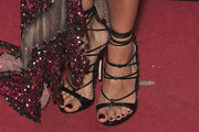 Monica Cruz Lace-Up Heels