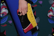 Peyton List Quilted Clutch