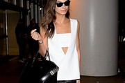 Lily Aldridge Loose Blouse