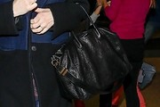 Liv Tyler Leather Tote