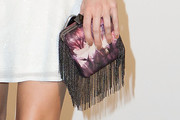 Louise Roe Printed Clutch