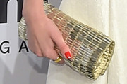 Rianne ten Haken Metallic Clutch