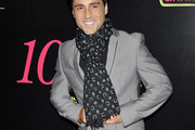 David Bustamante Patterned Scarf