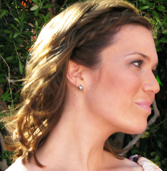 french braid hairstyles. Mandy Moore French Braid