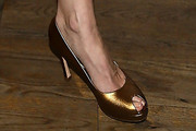 Mary-Louise Parker Peep Toe Pumps