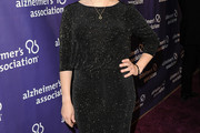 Mayim Bialik Beaded Dress