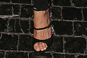 Michelle Rodriguez Strappy Sandals