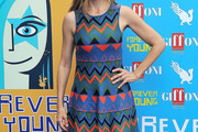 Mira Sorvino Print Dress