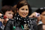 Mirka Federer Patterned Scarf