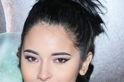 Laura Sanchez Messy Updo