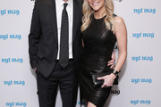 Megyn Kelly Leather Dress