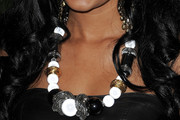 Heather Hemmens Beaded Statement Necklace