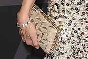 Sofia Coppola Metallic Clutch
