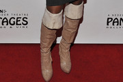 Naturi Naughton Knee High Boots