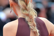 Blake Lively Long Braided Hairstyle
