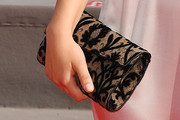 Paula Beer Printed Clutch