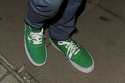 Niall Horan Canvas Shoes