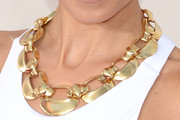 Nicole Richie Gold Link Necklace