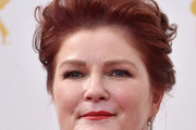 Kate Mulgrew Messy Updo