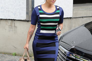Vanessa White Print Dress
