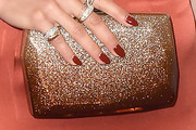 Rachel Platten Metallic Clutch