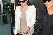 Kendall Jenner Cropped Jacket
