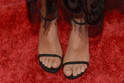 Kaia Gerber Strappy Sandals