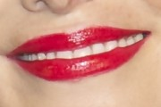 Adriana Abascal Red Lipstick