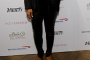 Sharon Leal Leather Pants
